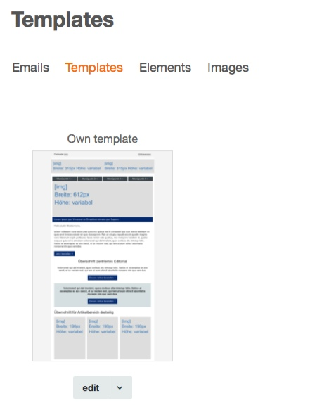 Adding your own (HTML) template to your account \u2013 CleverReach Support