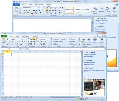 Introduction to Office Starter 2010 - Office Support