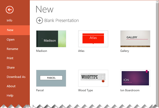 create a new theme in powerpoint