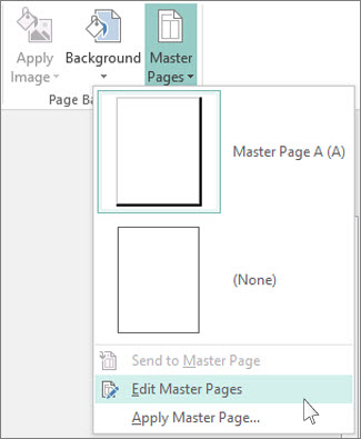 Make a picture a background in Publisher - Publisher