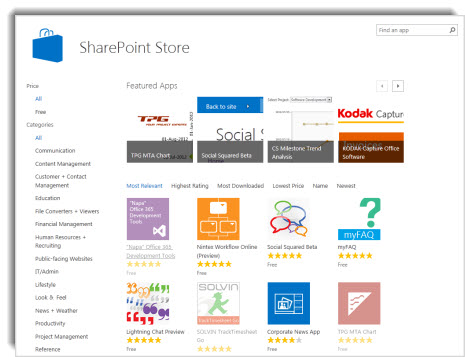 Buy an app from the SharePoint Store - SharePoint