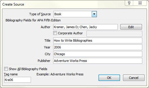 APA, MLA, Chicago \u2013 automatically format bibliographies - Word - format apa