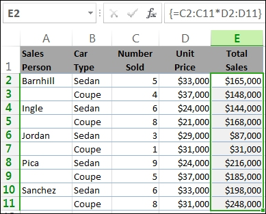 Guidelines and examples of array formulas - Office Support - creating formulas in excel