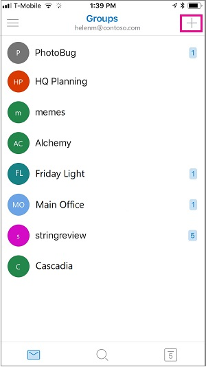 Create a group in Outlook - Office Support