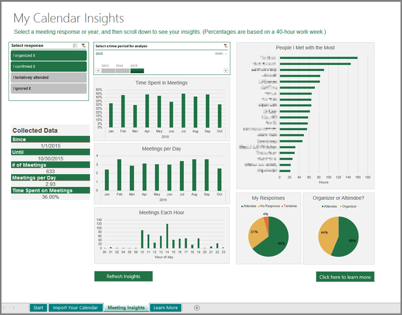 Create Calendar From Excel Data Create A Calendar In Excel Online Excel Supportoffice Manage Your Calendar With The Calendar Insights Template