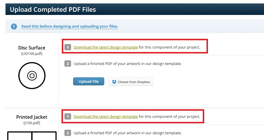 How do I upload my artwork? \u2013 CD Baby Manufacturing Help Center - Project Design Template