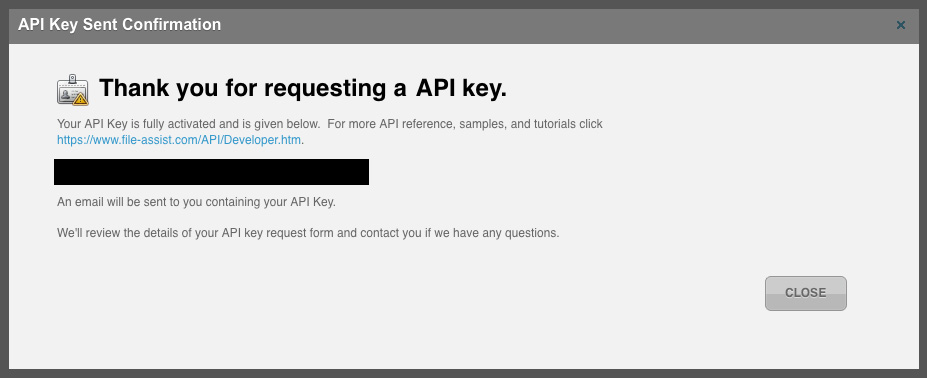 How to Obtain Developer API Key \u2013 Knowledge Base