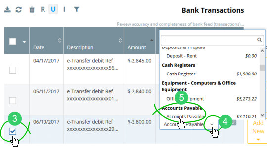 Reconcile a bank feed expense payment with a bill or bills \u2013 Help