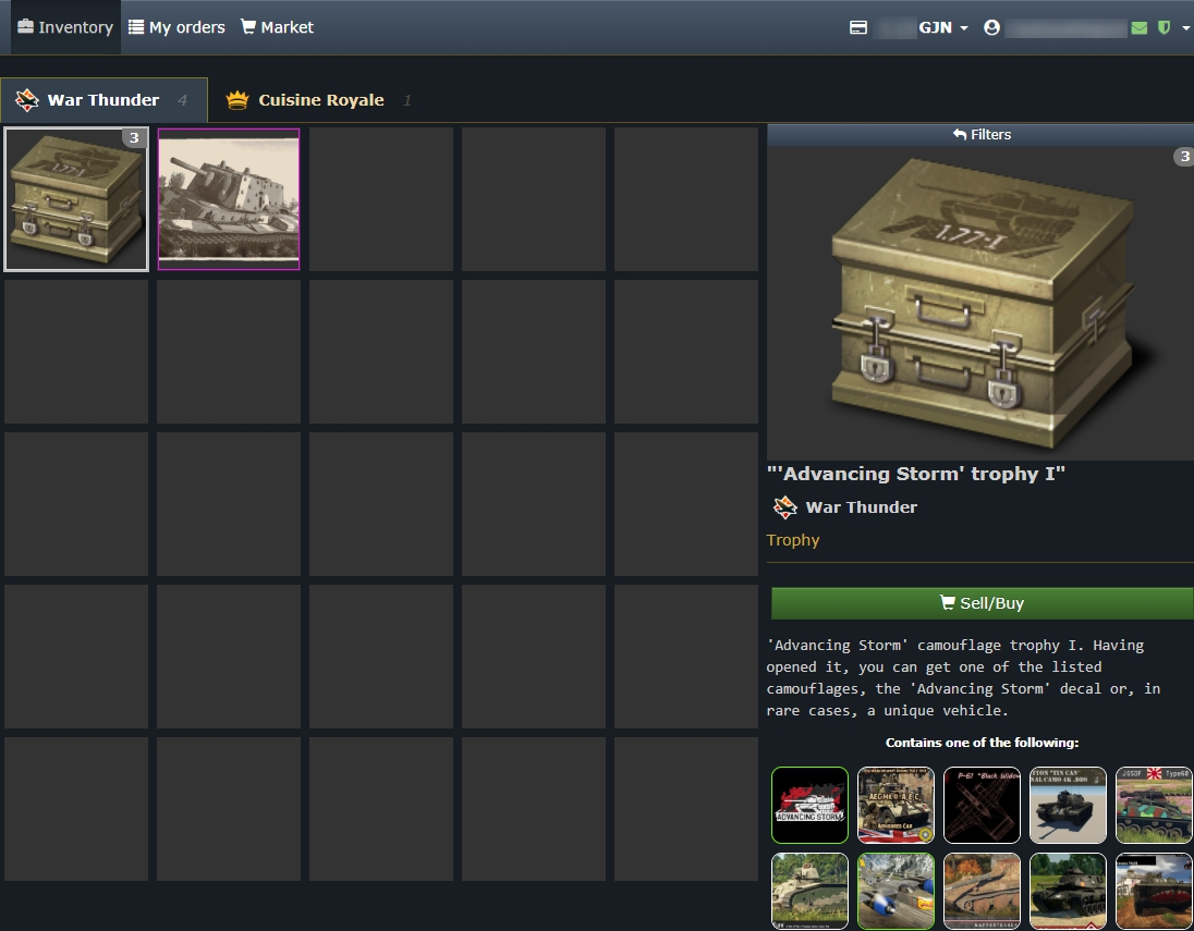 Cuisine Royale Guide Marketplace Gaijin Market Gaijin Support