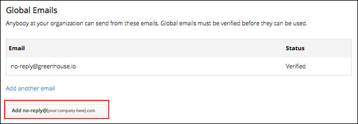 How do I set up Org-Wide Email Addresses? \u2013 Greenhouse Support