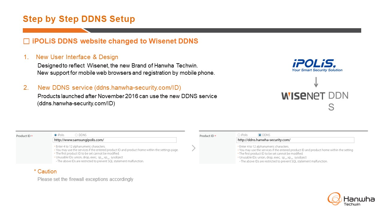 Einrichten Quickconnect Step By Step Ddns Setup Hanwha Techwin America