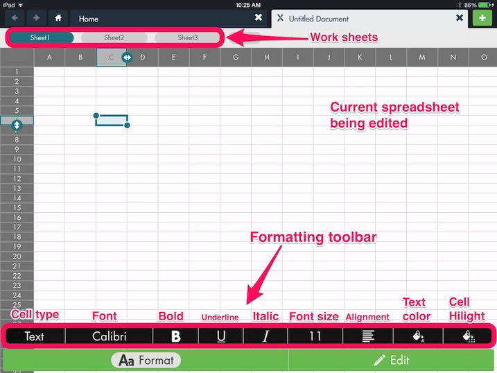 Using the Format Toolbar to Edit a Microsoft Excel Document  hopTo