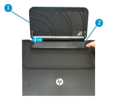 HP Deskjet 2510, 2520 Printers - Resume Light Blinks (Paper Jam