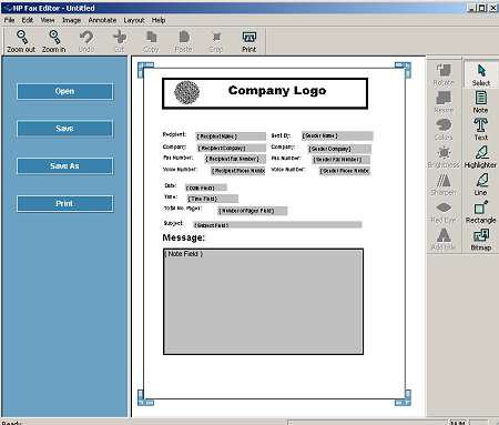 How to setup a fax Cover Page on my HP 8620 - HP Support Community
