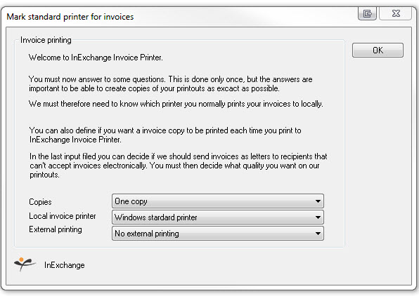 Printer Settings \u2013 InExchange Helpcenter - Invoice Print