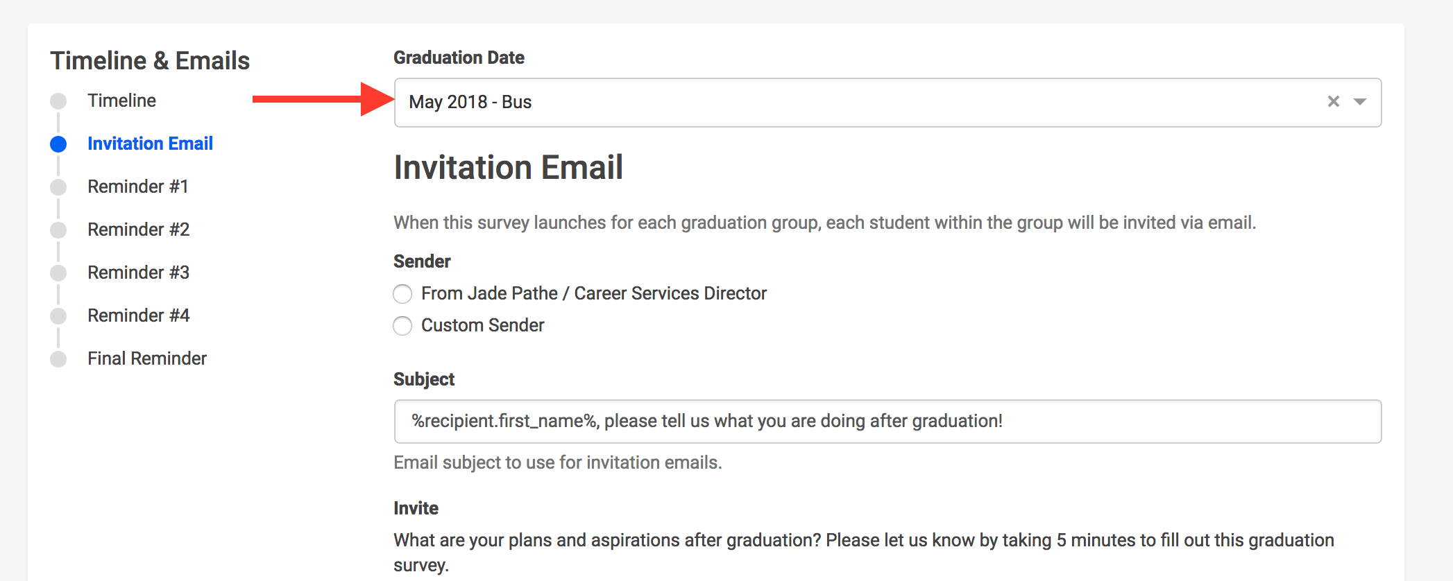 How To Send Custom Invitation And Reminder Emails To Each