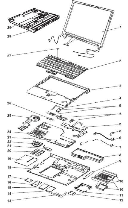 lenovo thinkpad x61 diagram