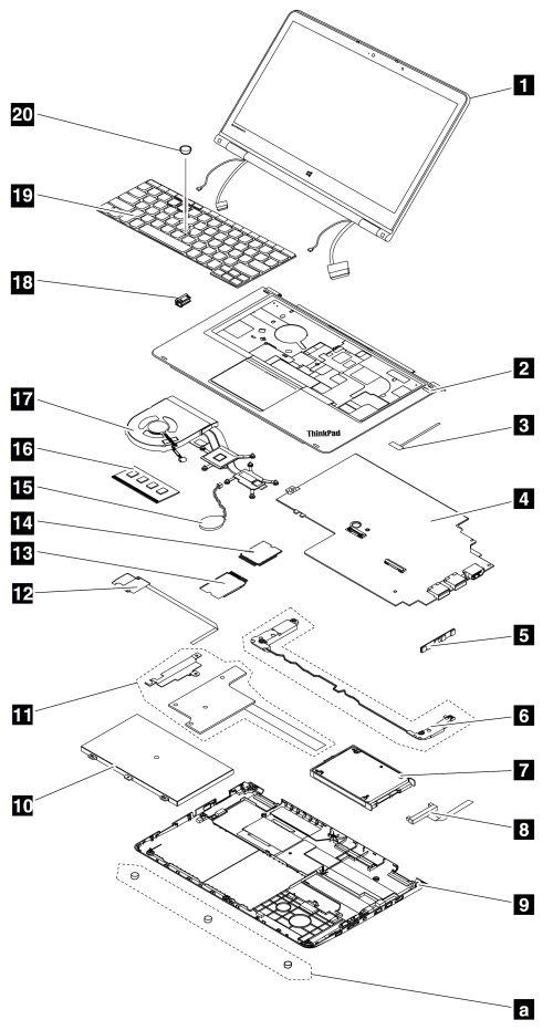 lenovo battery diagram