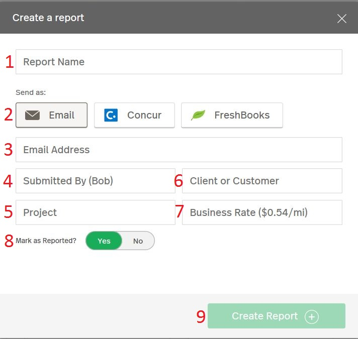 How to Create Reports \u2013 MileIQ - how to create a report