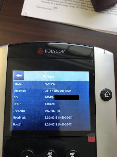 Polycom Boot Server \u2013 OnSIP Support