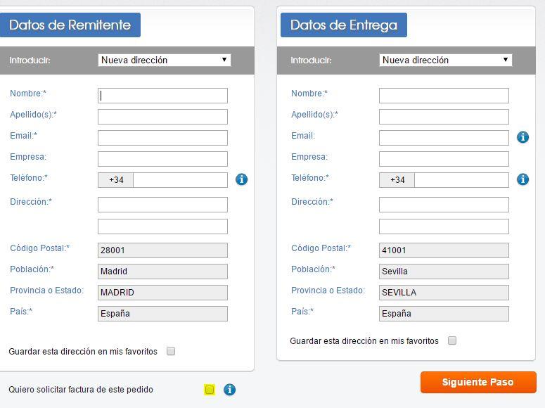 Cómo puedo obtener la factura? \u2013 Packlink Centro de Ayuda - formato de factura de venta