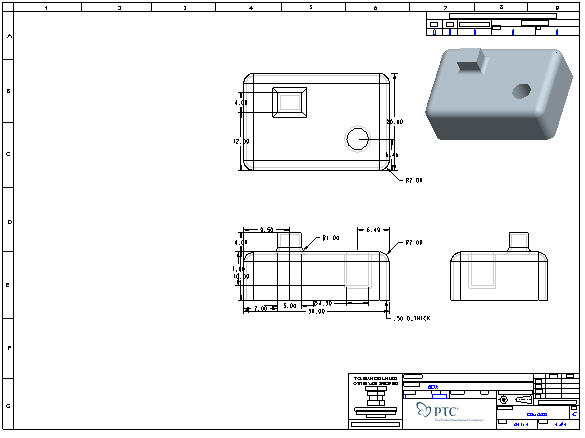 Introduction to Creating Drawings in Pro/Engineer