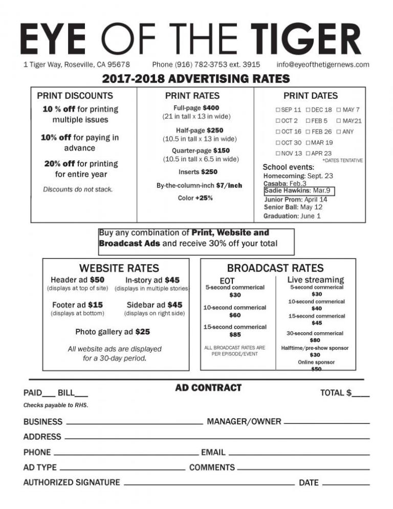 Creating an Ad Sheet \u2013 SNO Sites Support