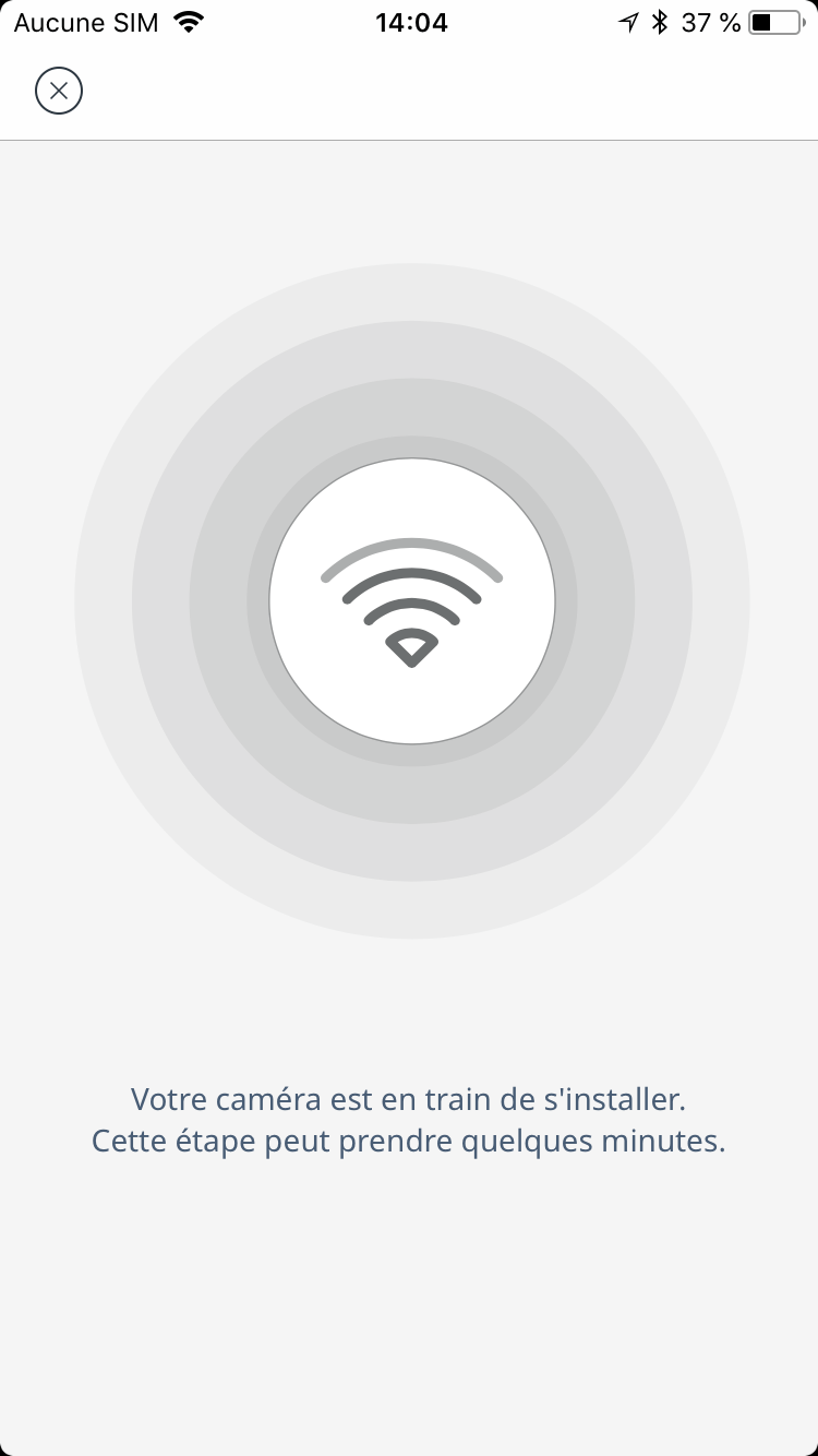 Camera Exterieur Somfy Installation De La Somfy Outdoor Camera Depuis L App Service
