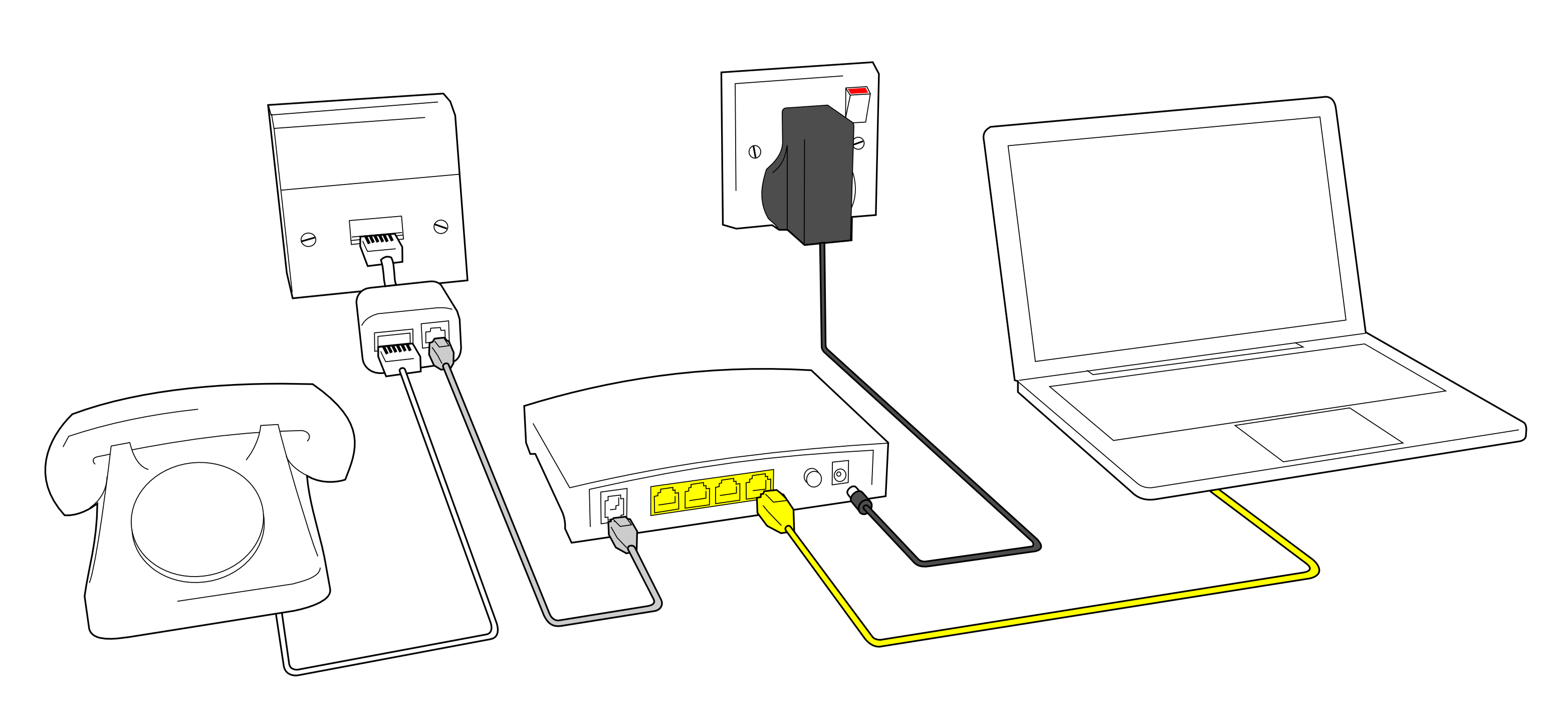 broadband wiring diagrams
