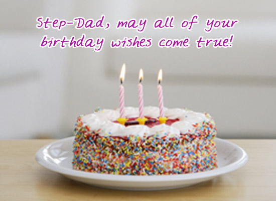 Stepfather Poetry ~ Birthday Wishes