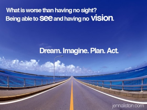 Stepfather Quote & Wisdom ~ Sight But No Vision