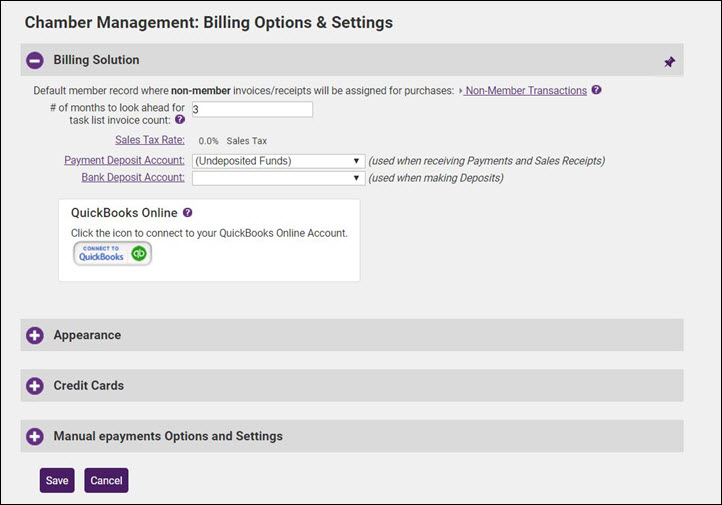 Working with Billing