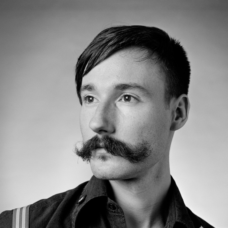 handlebar moustache club by Rokas Darulis