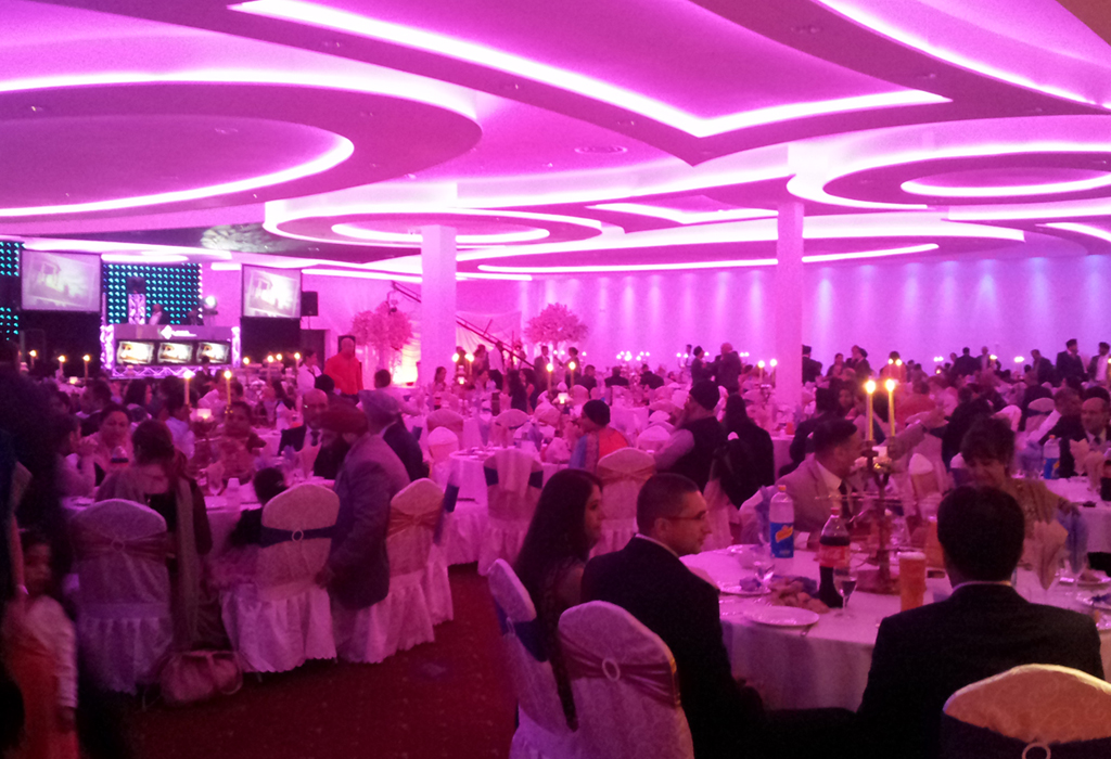 Contemporary Kitchen Lighting Supreme Venue – Banqueting & Conference Centre