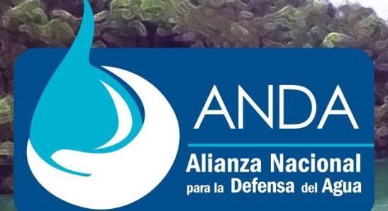 Anda Alianza Nacional para la Defensa del Agua