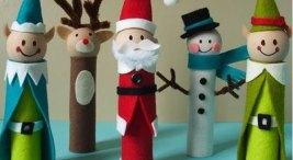 decor navidad reciclaje