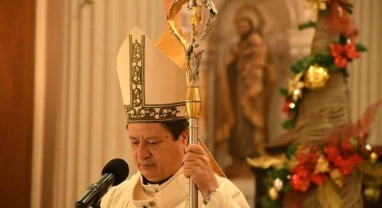 Foto tomada del Facebook del Arzobispo José Rafael Quirós