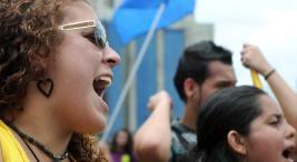UCR Vicepresidenta Ana Helena Chacon llama a seguir lucha por la igualdad