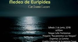 Teatro en Puntarenas Medea de Euripides