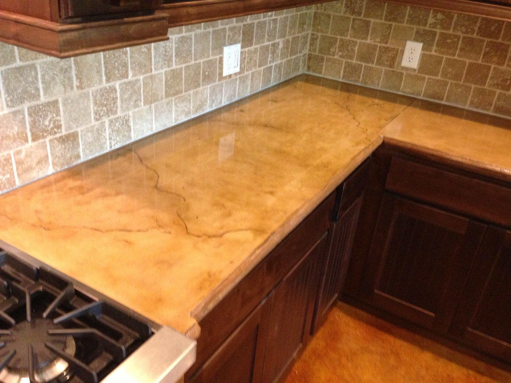 How Much Is Concrete Countertops Concrete Installer Discovers Concrete Countertops