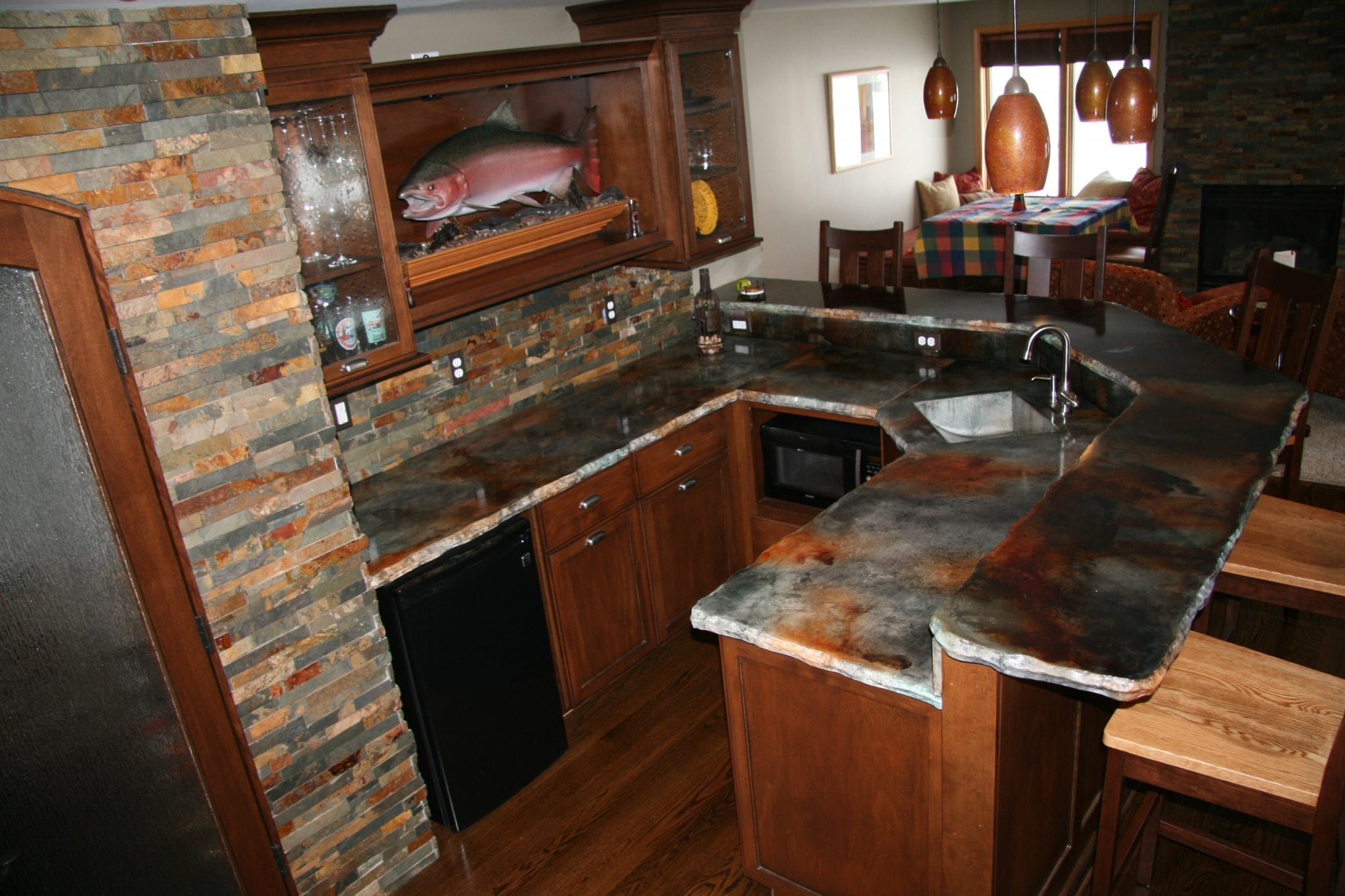 How Much For Concrete Countertops How To Stain A Concrete Counter Top Using Eco Stain