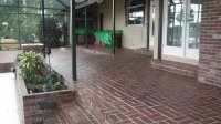 Brick patio cleaning and sealing | SurfaceSolve Cleaning ...