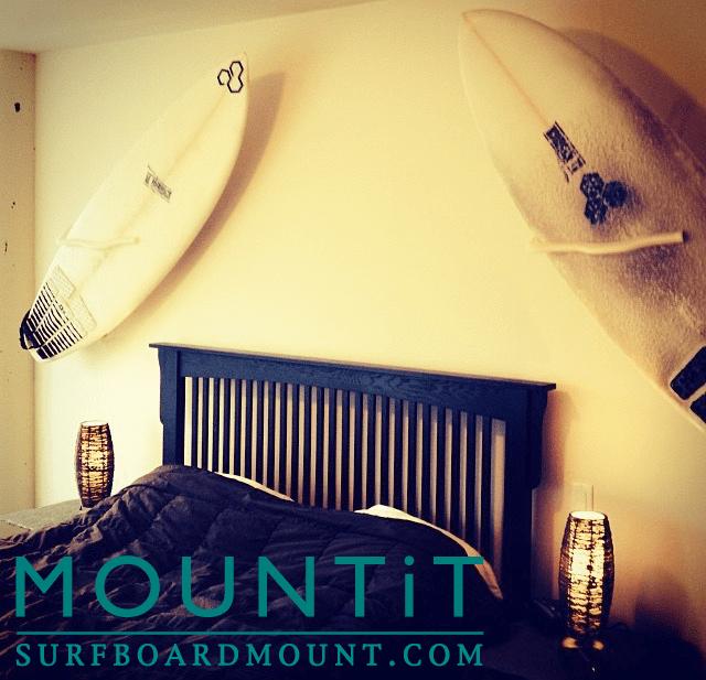 Surfboard Wall Mount, Surfboard Mount Rack Display  Easy