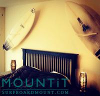 Surfboard Wall Mount, Surfboard Mount Rack Display  Easy ...