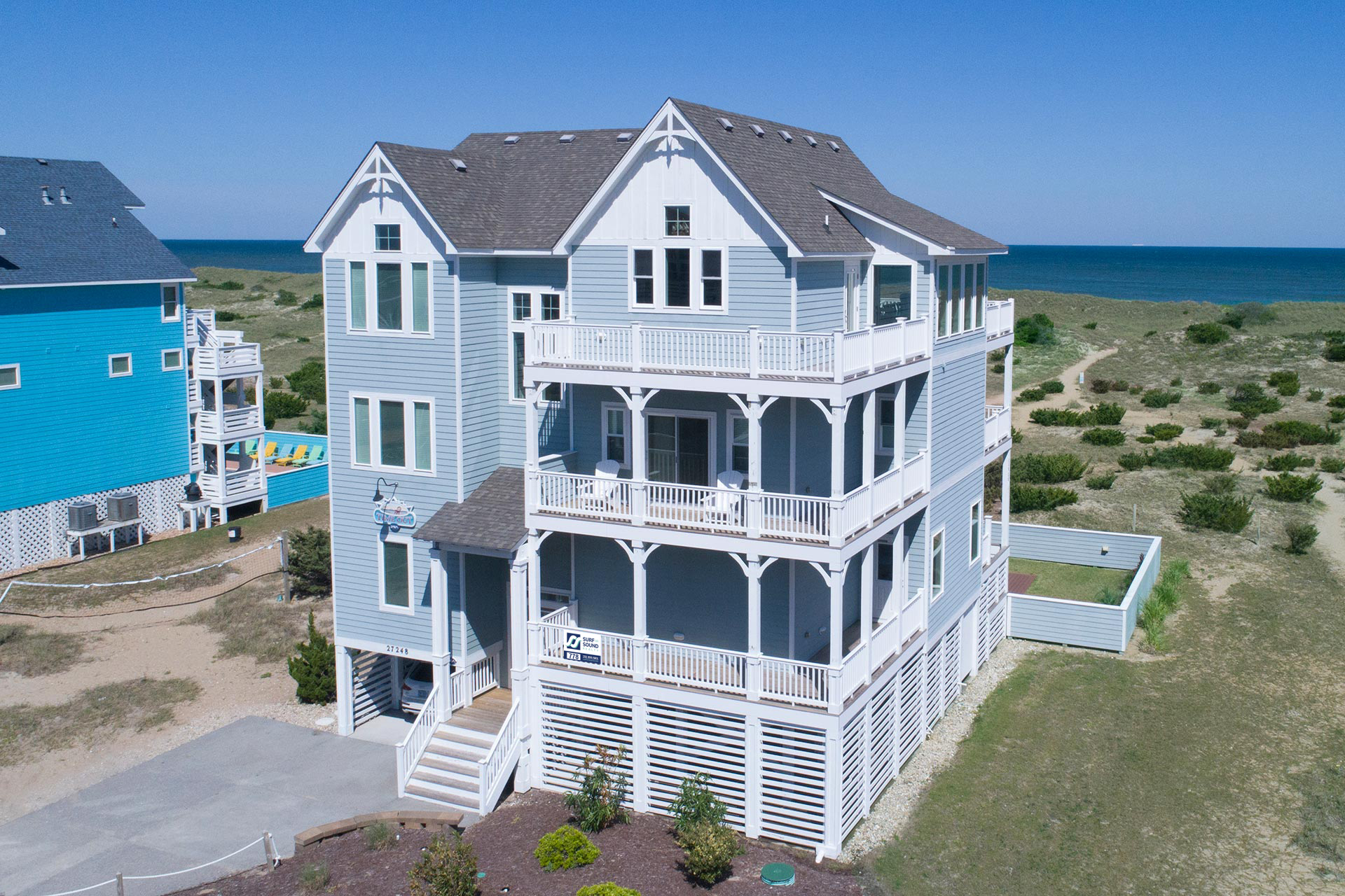 Time Out 778 8 Bedroom Ocean Front Home In Salvo Obx Nc