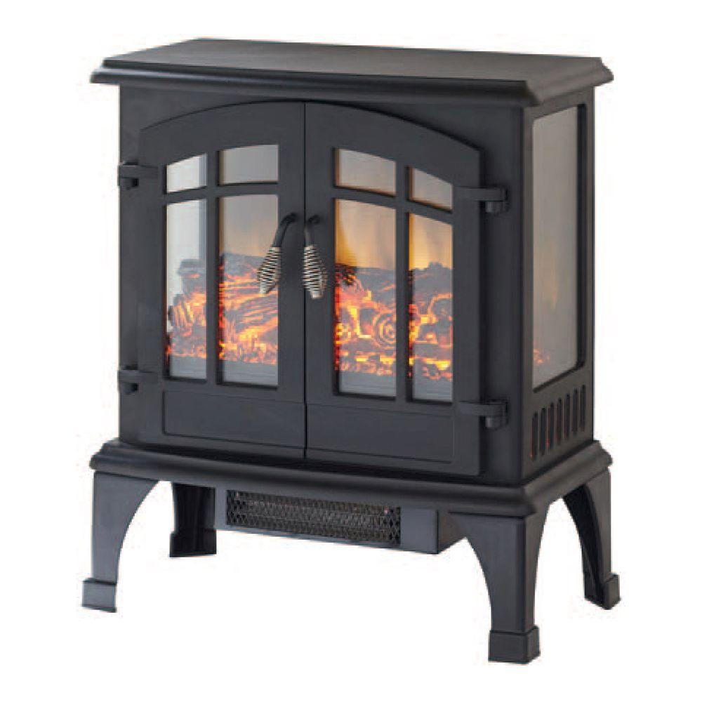 Space Heaters Fireplace Legion 1 000 Sq Ft Panoramic Infrared Electric Stove Fireplace Space Heater