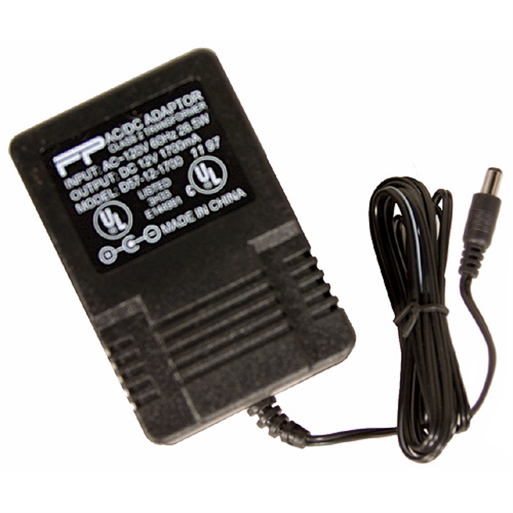 12 Volt Power Adapter 115 Volt Ac 12 Volt Dc Plug In Power Supply 1 7 Amps