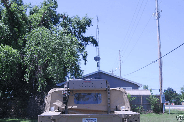 Military Red Dot A C For Soft Top Hmmwv M35a3 M998