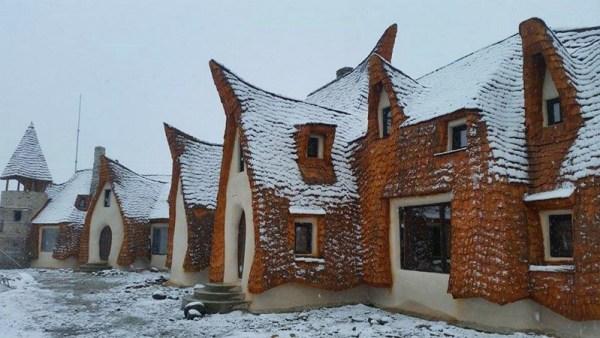 Castelul de lut Valea Zanelor Porumbacu de Sus 14
