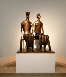 King and Queen Henry Moore